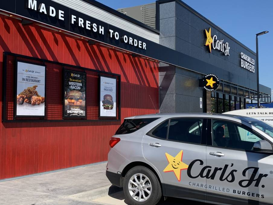 ON THE MENU: The Carl's Jr chain, founded in Los Angeles in 1941, will soon add to the fast food options on the highway east of Bathurst.