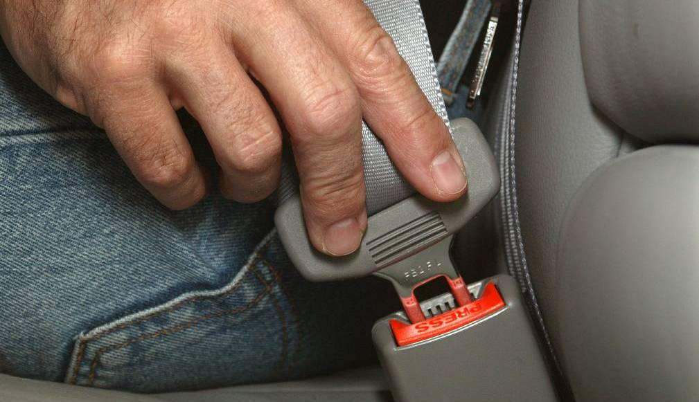 NUMBERS: The latest figures suggest seat belt offences have largely declined around the region in recent months.