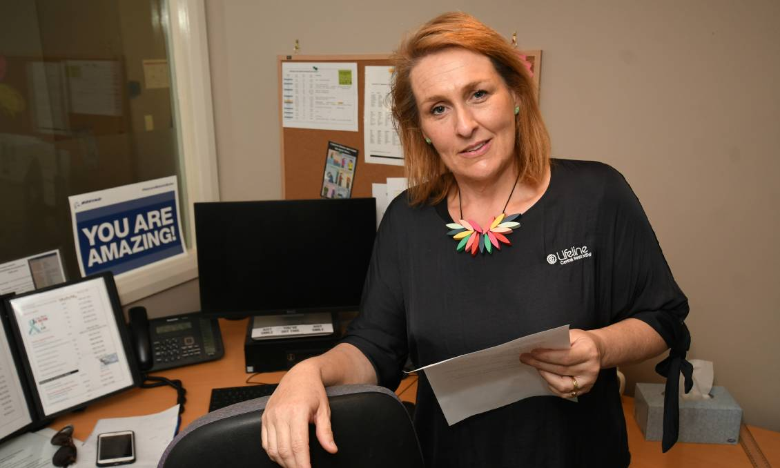 SAVING LIVES: Lifeline Central West CEO Stephanie Robinson has welcomed a new suicide monitoring system giving services greater insight to those at risk.