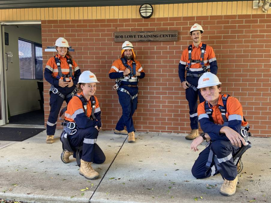 FRESH FACES: 42 new recruits are set to join the Essential Energy ranks across regional NSW, bringing the total number of apprentices to 152. Photo: Supplied