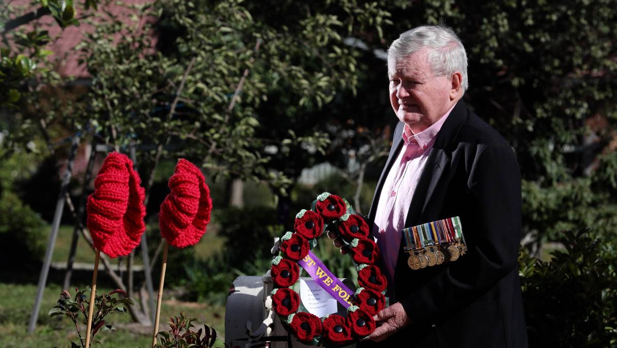 LONG OVERDUE: Bathurst RSL Sub Branch president David Mills [pictured] has welcomed the federal government's decision to launch a royal commission into veteran suicides. Photo: PHIL BLATCH